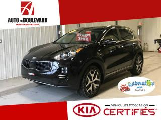 Used 2017 Kia Sportage SX AWD TOIT PANO GPS 12 000K WOW for sale in Notre-Dame-des-Pins, QC