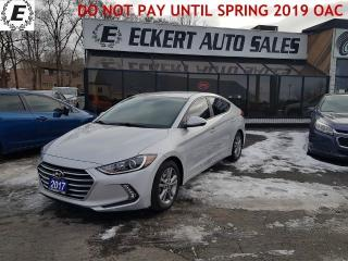 Used 2017 Hyundai Elantra SE WITH REVERSE CAMERA for sale in Barrie, ON