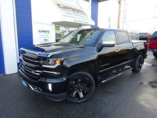 Used 2017 Chevrolet Silverado 1500 LTZ Z71 4x4 Crew, Nav, Sunroof, 22's, 6.2L V8 for sale in Langley, BC