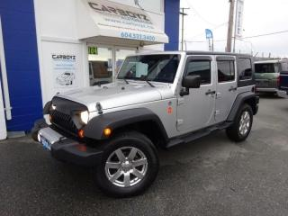 Used 2010 Jeep Wrangler Unlimited Islander Edition, Hard Top, Pwr Group for sale in Langley, BC