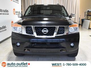 Used 2014 Nissan Armada Platinum 4WD; Nav, Backup Cam, Leather, Heated Seats, Sunroof, Dual DVD!! for sale in Edmonton, AB