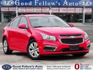 Used 2015 Chevrolet Cruze 1LT MODEL, REARVIEW CAMERA for sale in Toronto, ON