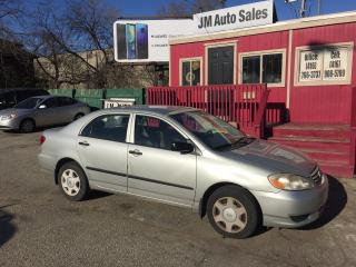 Used 2003 Toyota Corolla CE for sale in Toronto, ON