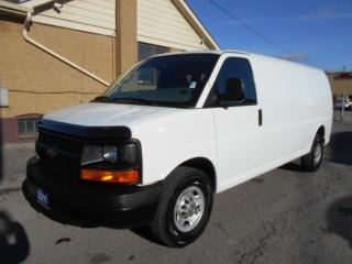 Used 2011 Chevrolet Express 2500HD Extended Cargo Van 4.8L V8 Certified for sale in Etobicoke, ON