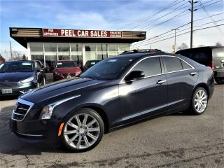 Used 2015 Cadillac ATS Luxury AWD|NAVI|SUNROOF| for sale in Mississauga, ON