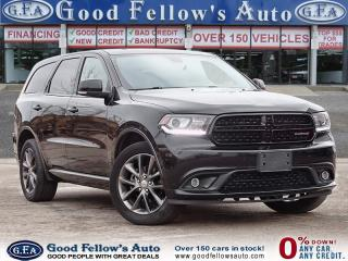 Used 2017 Dodge Durango GT MODEL, 6CYL, AWD, LEATHER SEATS, 7PASSENGER for sale in Toronto, ON