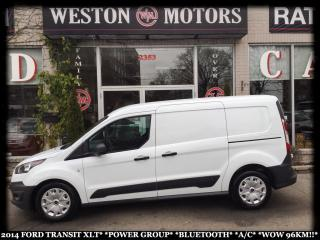Used 2014 Ford Transit Connect XLT*POWER GROUP*BLUETOOTH*A/C*WOW 96KM!!* for sale in Toronto, ON