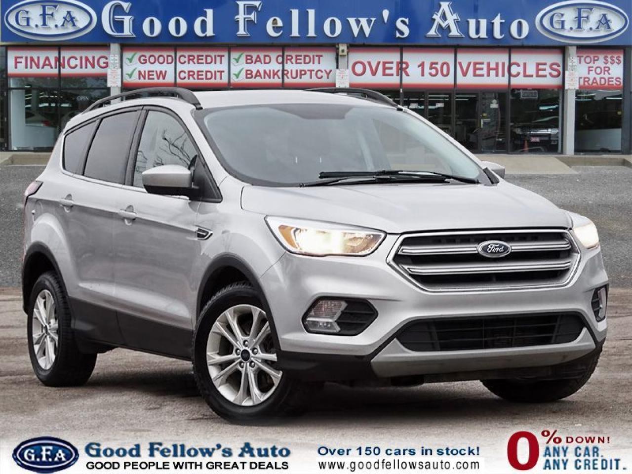 2017 Ford Escape SE MODEL, 1.5 LITER ECOBOOST, AWD, REARVIEW CAMERA
