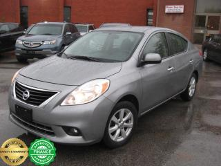 Used 2012 Nissan Versa 1.6SL for sale in Toronto, ON