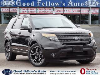 Used 2015 Ford Explorer SPORT, 6CYL 3.5 LITER ECOBOOST, AWD, LEATHER SEATS for sale in Toronto, ON
