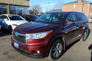 Used 2016 Toyota Highlander Hybrid LE for sale in Brampton, ON
