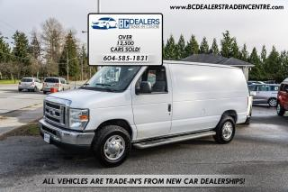 Used 2010 Ford Econoline E-250 Cargo Van, V8, No Accidents, Very Clean! for sale in Surrey, BC