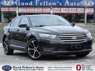 Used 2014 Ford Taurus SEL MODEL, LEATHER SEATS, SUNROOF, REARVIEW CAMERA for sale in Toronto, ON