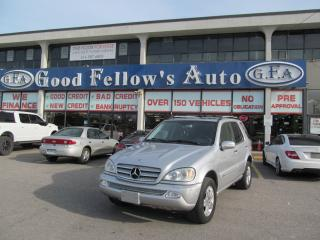 Used 2005 Mercedes-Benz ML-Class LEATHER SEATS, SUNROOF, AWD, HEATED SEATS for sale in Toronto, ON