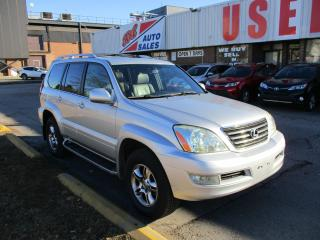 Used 2008 Lexus GX 470 ~DVD~NAV.~BACK-UP CAM.~CERTIFIED for sale in Toronto, ON