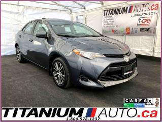 Used 2017 Toyota Corolla LE-Camera-Sunroof-Safety Sense-Heated Wheel & Seat for sale in London, ON