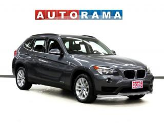 Used 2015 BMW X1 xDrive28i PREMIUM PKG LEATHER PAN SUNROOF AWD for sale in Toronto, ON