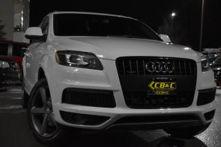 Used 2014 Audi Q7 FEBRUARY BLOWOUT! 2 SETS OF WHEELS-TDI  - S LINE for sale in Oakville, ON