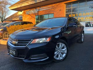 Used 2016 Chevrolet Impala 2LT  Rear Cam Remote Starter Heated Seats Cert* for sale in Concord, ON