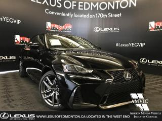 New 2019 Lexus IS 350 F Sport Series 3 for sale in Edmonton, AB