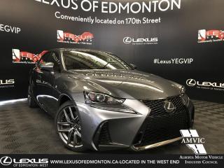 New 2019 Lexus IS 300 F SPORT SERIES 2 for sale in Edmonton, AB