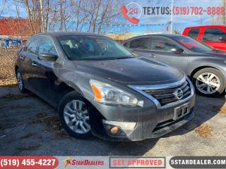 Used 2013 Nissan Altima 2.5 | CAR LOANS FOR ALL CREDIT for sale in London, ON