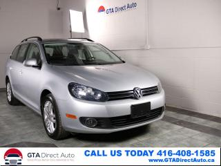 Used 2011 Volkswagen Golf Wagon Comfortline TDI PanoRoof Auto TouchScreenCertified for sale in Toronto, ON