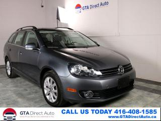 Used 2012 Volkswagen Golf Wagon Comfortline TDI 6SPEED Heated Alloys 83K Certified for sale in Toronto, ON