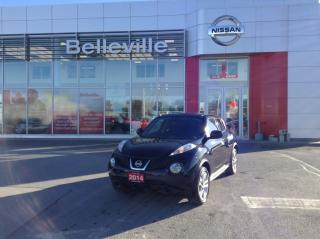 Used 2014 Nissan Juke SV AWD LOCAL TRADE for sale in Belleville, ON