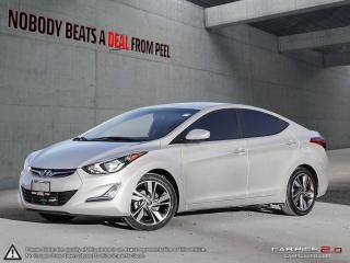 Used 2016 Hyundai Elantra GLS*Sunroof*2nd Set Winters*Heated Seats*Tints*Cam for sale in Mississauga, ON