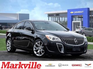 Used 2015 Buick Regal GS-NAVI-ROOF-GM CERTIFIED PRE-OWNED-1 OWNER! for sale in Markham, ON