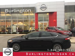Used 2014 Ford Fusion Titanium  AWD, NAVi, LEATHER, 1 ONR, FULL HISTORY for sale in Burlington, ON