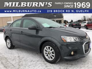 Used 2017 Chevrolet Sonic LT for sale in Guelph, ON