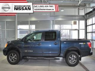 Used 2015 Nissan Titan PRO-4X  - $243.41 B/W for sale in Mississauga, ON