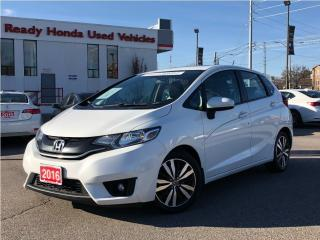Used 2016 Honda Fit EX  - Sunroof - Rear Camera - Heated Seats for sale in Mississauga, ON