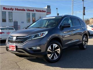 Used 2015 Honda CR-V Touring - Navigation - Leather - Rear Camera for sale in Mississauga, ON