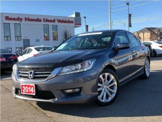 Used 2014 Honda Accord Sedan Touring | Navigation | Leather | for sale in Mississauga, ON