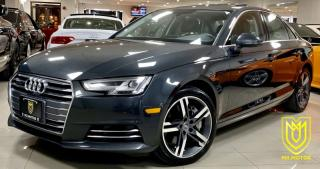 Used 2017 Audi A4 Technik for sale in North York, ON