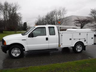 Used 2006 Ford F-350 SD XL SuperCab 2WD Service Truck for sale in Burnaby, BC