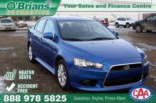 Used 2015 Mitsubishi Lancer SE - Accident Free w/Heated Seats for sale in Saskatoon, SK