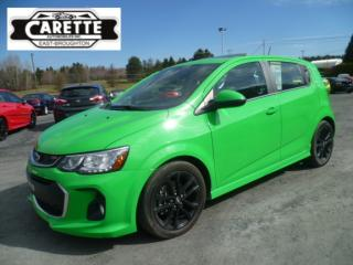 Used 2017 Chevrolet Sonic Rs lt turbo toit ouvrant for sale in East broughton, QC