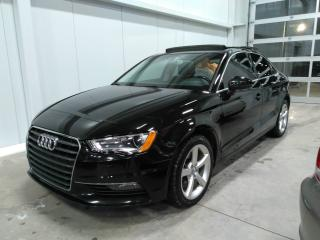 Used 2015 Audi A3 1.8t Toit Pano ,cuir for sale in Lévis, QC