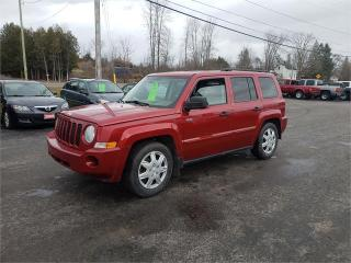 Used 2008 Jeep Patriot 106k Safetied we finance Sport for sale in Madoc, ON