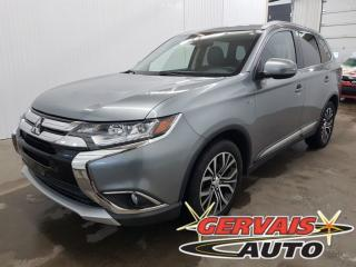 Used 2016 Mitsubishi Outlander Gt V6 Awd Cuir for sale in Shawinigan, QC