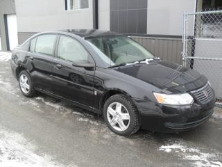 Used 2007 Saturn Ion Automatic ECONO + GARANTIE 1 an INCLUSE for sale in Laval, QC