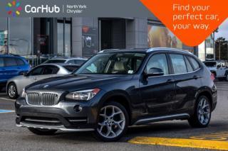 Used 2015 BMW X1 xDrive28i AWD|PanoSunroof|Nav|Pwr.Options|KeylessGo|18