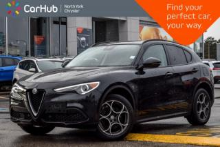Used 2018 Alfa Romeo Stelvio Sport|PanoSunroof|Nav|RemoteAutoStart|SatRadio for sale in Thornhill, ON
