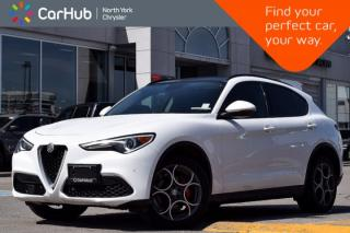 Used 2018 Alfa Romeo Stelvio Sport|PanoSunroof|H/K Audio|RemoteAutoStart|Nav for sale in Thornhill, ON