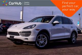 Used 2013 Porsche Cayenne Diesel|AWD|Navi|Pano Sunroof|Backup Cam|Bluetooth|Blind Spot|Ventilated Front Seats|18