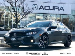 Used 2017 Honda Civic Hatchback Sport HS CVT CarPlay Android *AUTO*, Moonroof, Push Start for sale in Markham, ON